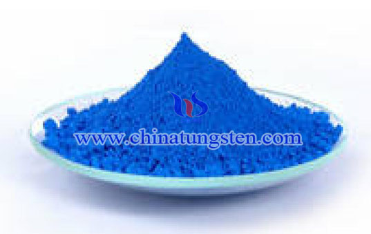 blue tungsten oxide color picture